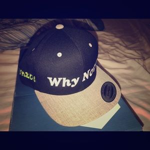 Custom snap back why not? Hat new